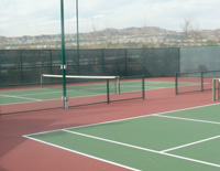 Tennis at Belcaro Senior Living Community